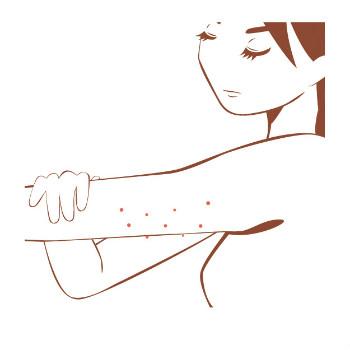 乾燥肌のブツブツ 症状と部位のケア