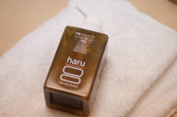100%天然由来・10の無添加のHARU